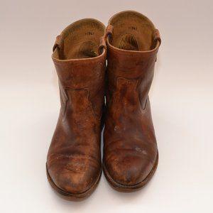 Frye Jayden Roper Boots- brown size 9